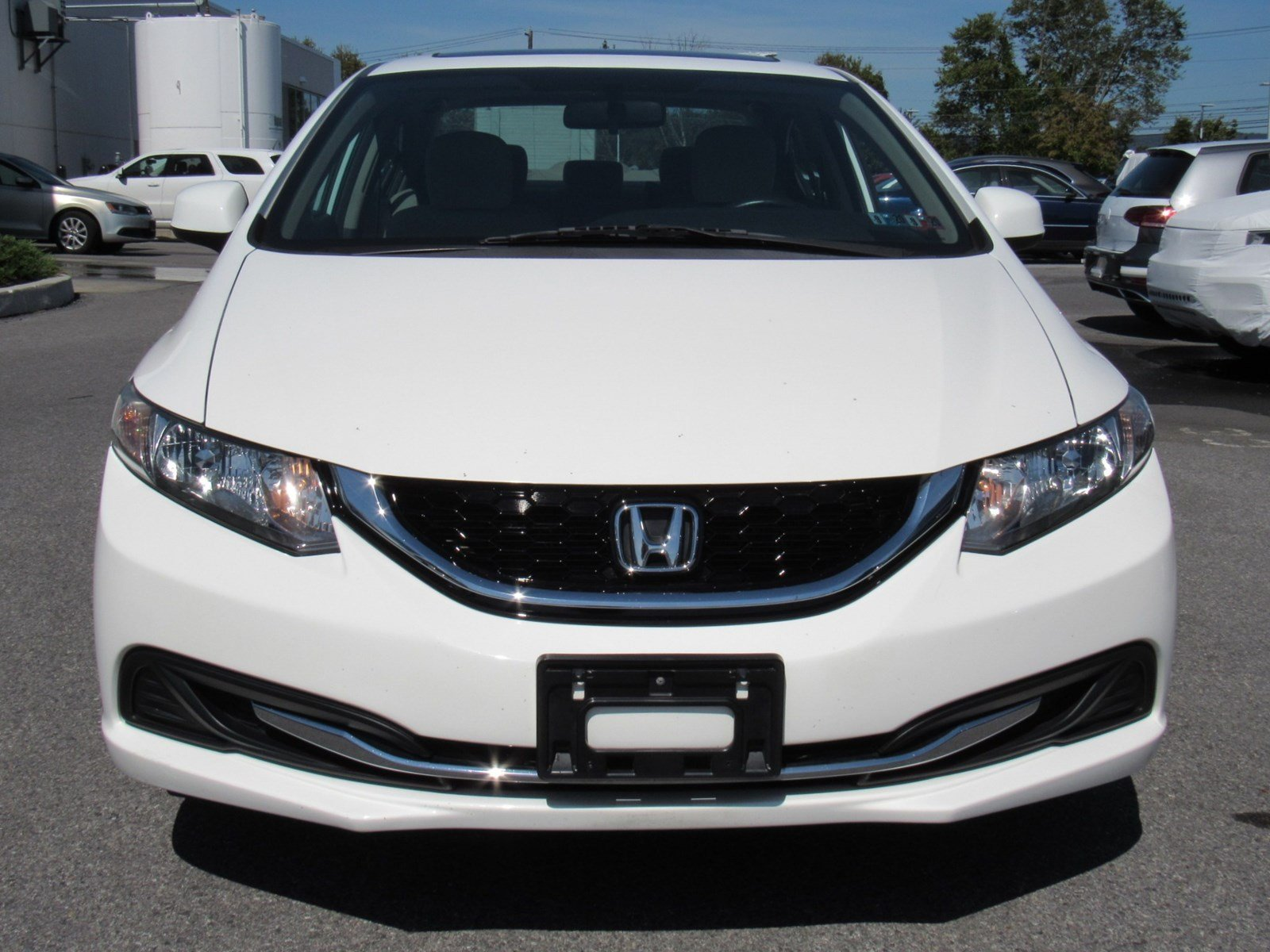 Pre-Owned 2013 Honda Civic Sdn EX