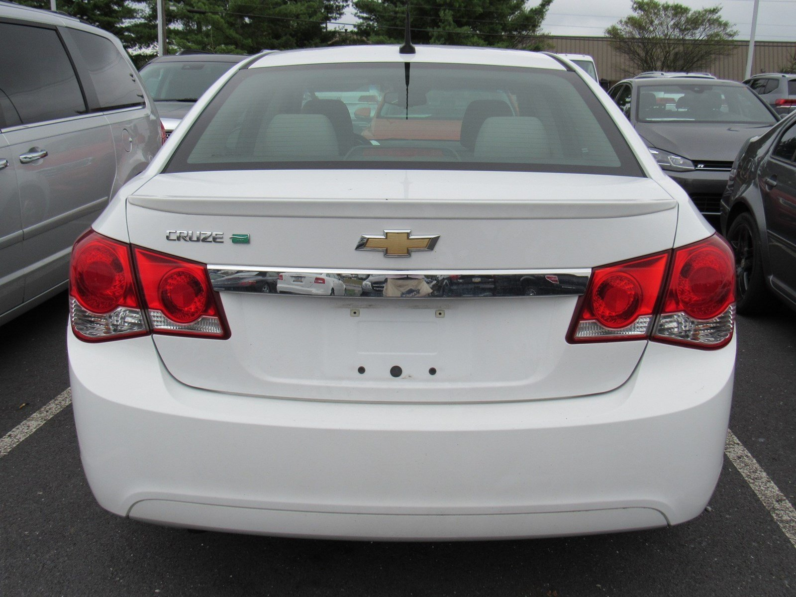 Pre-Owned 2011 Chevrolet Cruze ECO with 1XF