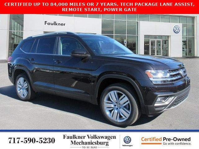 Certified Pre-Owned 2019 Volkswagen Atlas 3.6L V6 SE with Technology