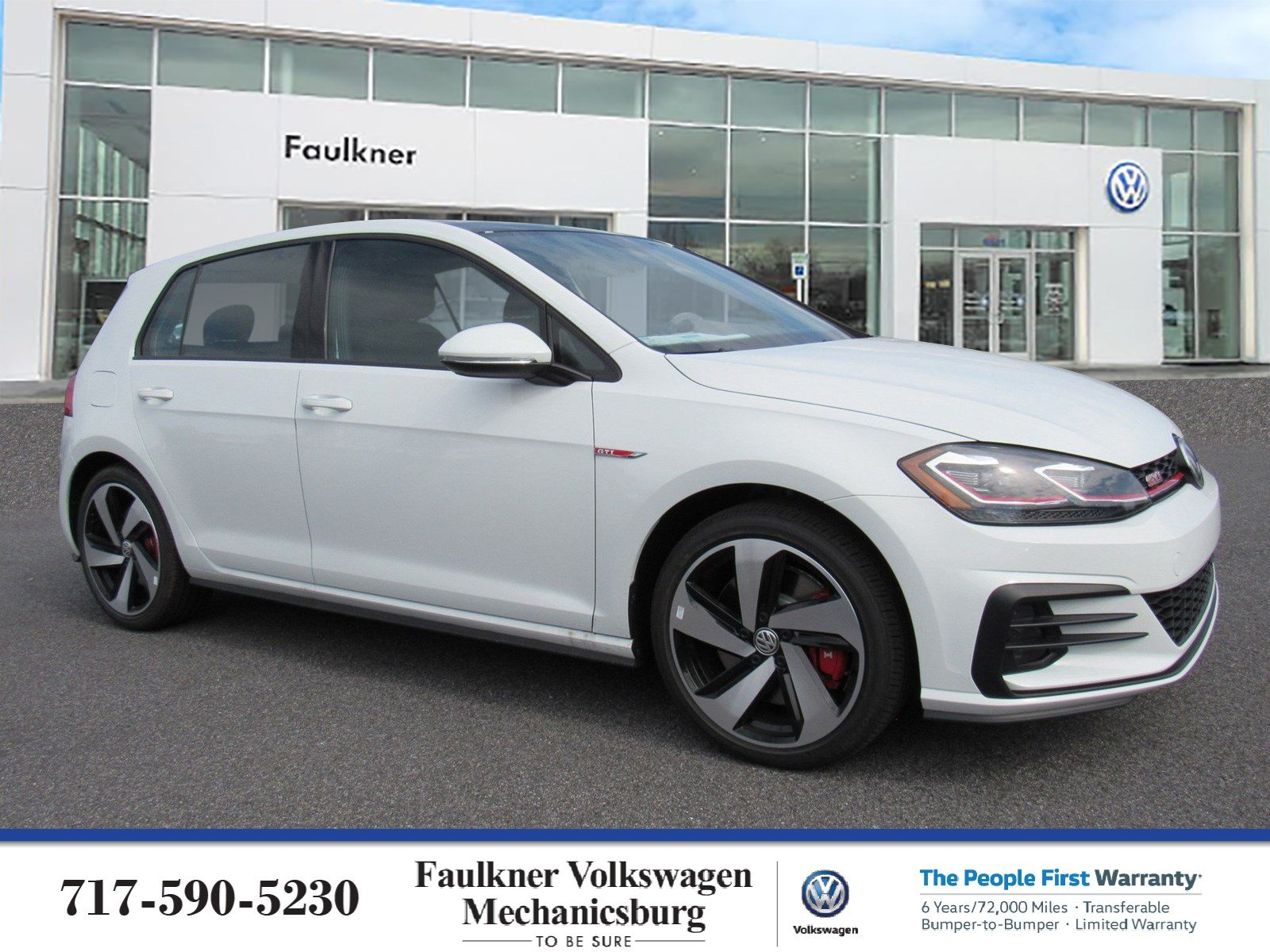 New 2019 Volkswagen Golf GTI SE