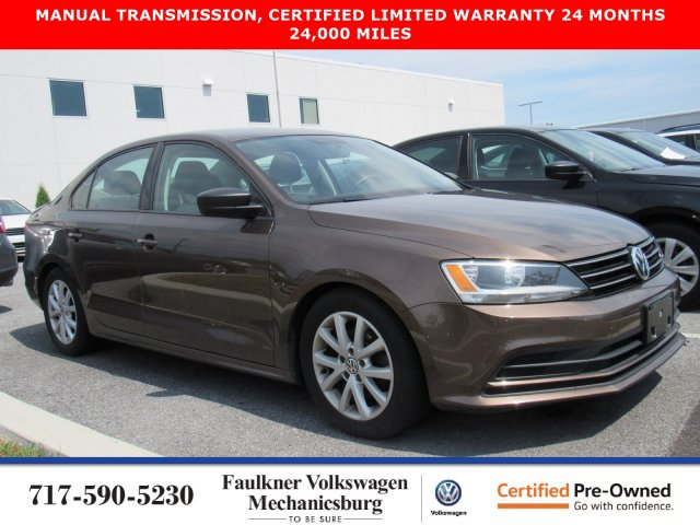 Certified Pre-Owned 2015 Volkswagen Jetta Sedan 1.8T SE