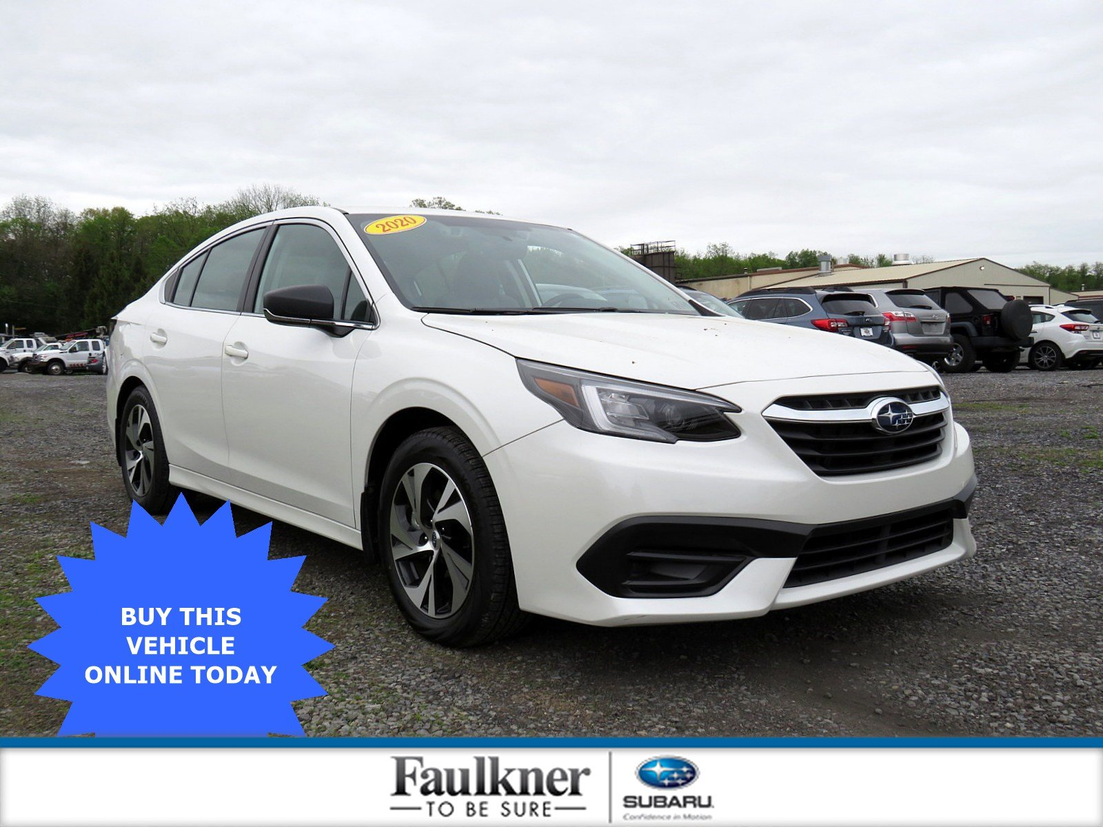 Pre-Owned 2020 Subaru Legacy Base
