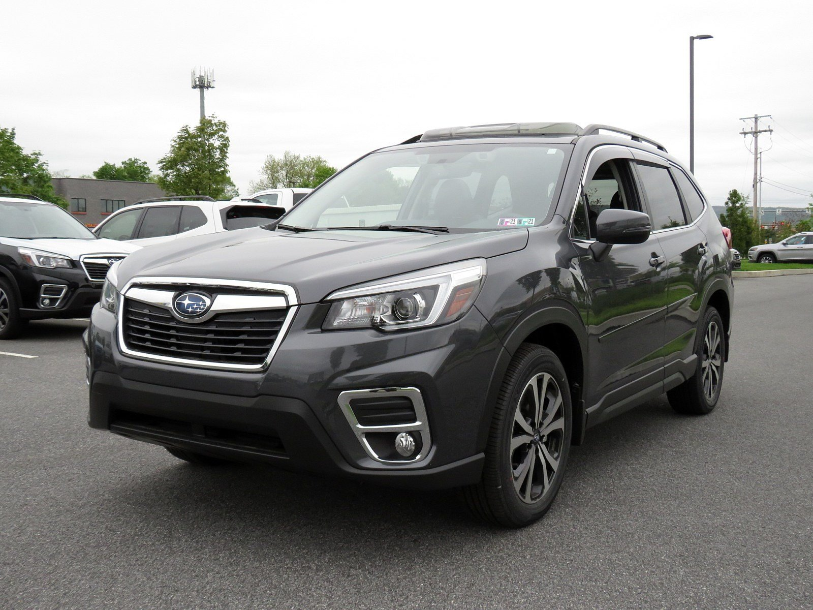 Pre-Owned 2020 Subaru Forester Limited