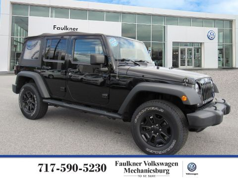 Pre-Owned 2014 Jeep Wrangler Unlimited Sport