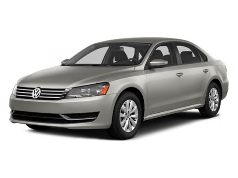 Certified Pre-Owned 2014 Volkswagen Passat TDI SE with Sunroof & Nav