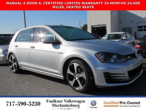 Certified Pre-Owned 2015 Volkswagen Golf GTI S