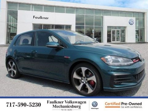 Certified Pre-Owned 2019 Volkswagen Golf GTI S