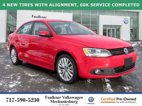 Certified Pre-Owned 2014 Volkswagen Jetta Sedan 2.0L TDI