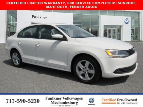 Certified Pre-Owned 2012 Volkswagen Jetta Sedan TDI with Premium